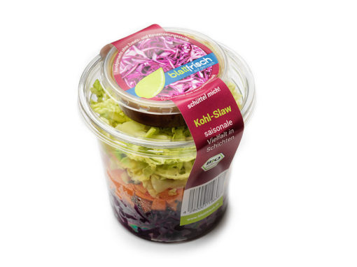 Schichtsalat – Kohl Slaw